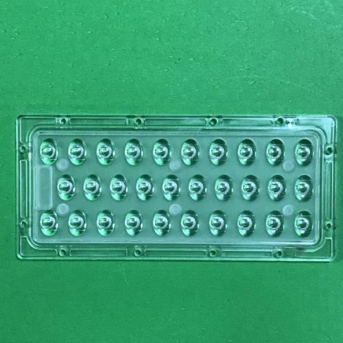 LED连体透镜灯具 路灯投光灯隧道灯透镜定制路灯套件灯饰配件批发
