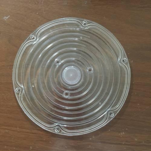ufo工矿灯隧道灯投光灯压铸飞碟灯pc罩路灯透镜外壳套件Led灯罩新