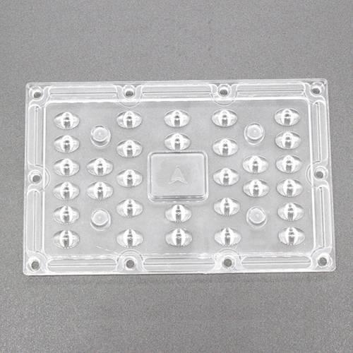 批发光学PC30WLed投光灯透镜 户外庭院灯隧道灯杀菌灯透镜 灯具件