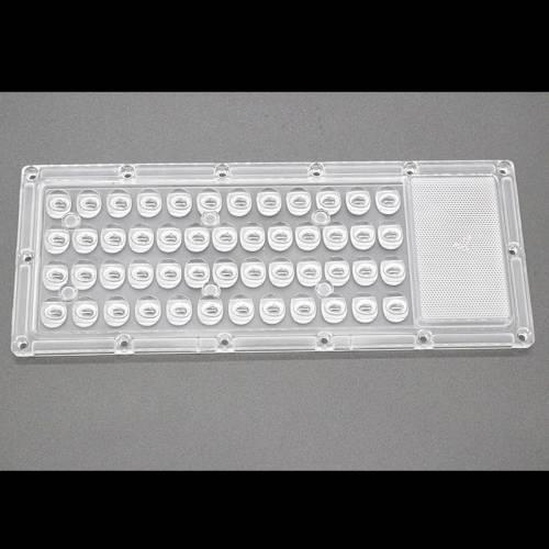 光学级PC路灯Led透镜 户外Led50W投光灯隧道灯工矿灯外壳透镜配件