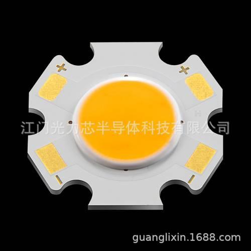 led面光源COB光源发光面11MM 高亮度COB面光源11MM大功率集成光源