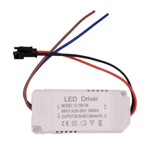 led驱动电源12-18W天花灯筒灯外置驱动电源隔离恒流宽压14W15W16W